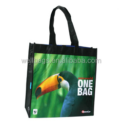 2014 well bags laminated pp non woven bag ,new fabric