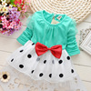 Hot Selling High Quality Fancy 1 year - 4 years old Baby Girl Dress / 2018 Baby Girls Frocks Wholesale