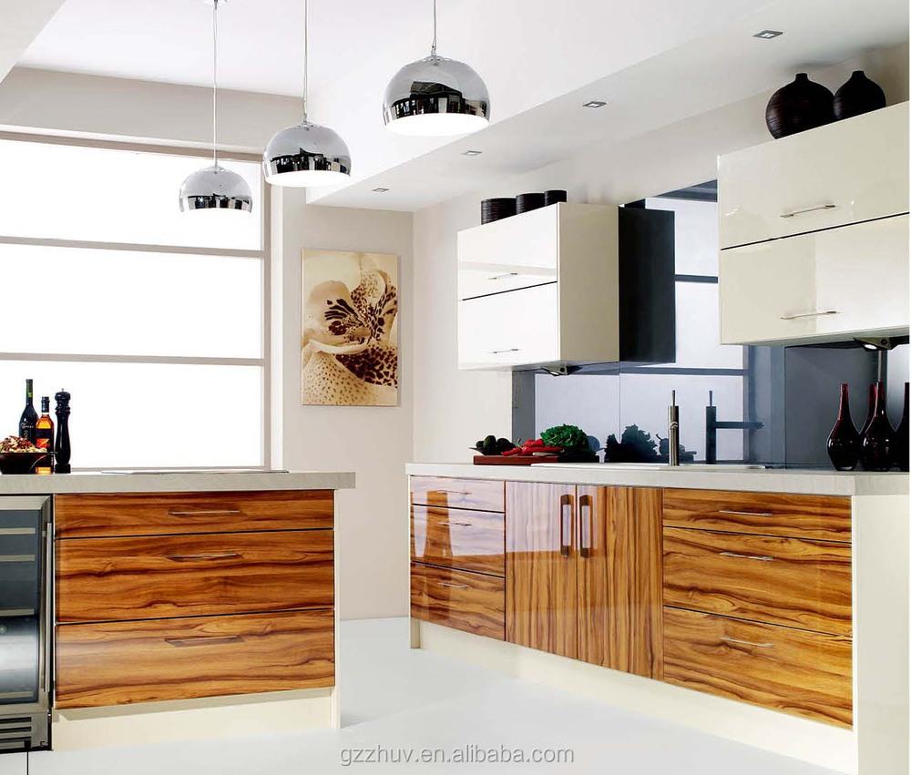 Cocina Mdf Casa Gabinetes De Cocina Pequeña Cocina - Buy Product on ...