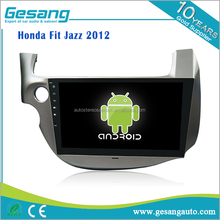 Automobil elektronik dual zone, Anti-Schockiert Schutz kapazitiven touchscreen auto dvd-player für Honda Fit Jazz <span class=keywords><strong>2012</strong></span>