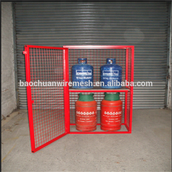 powder coated gas cylinder storage cages - Gas Cylinder Cages