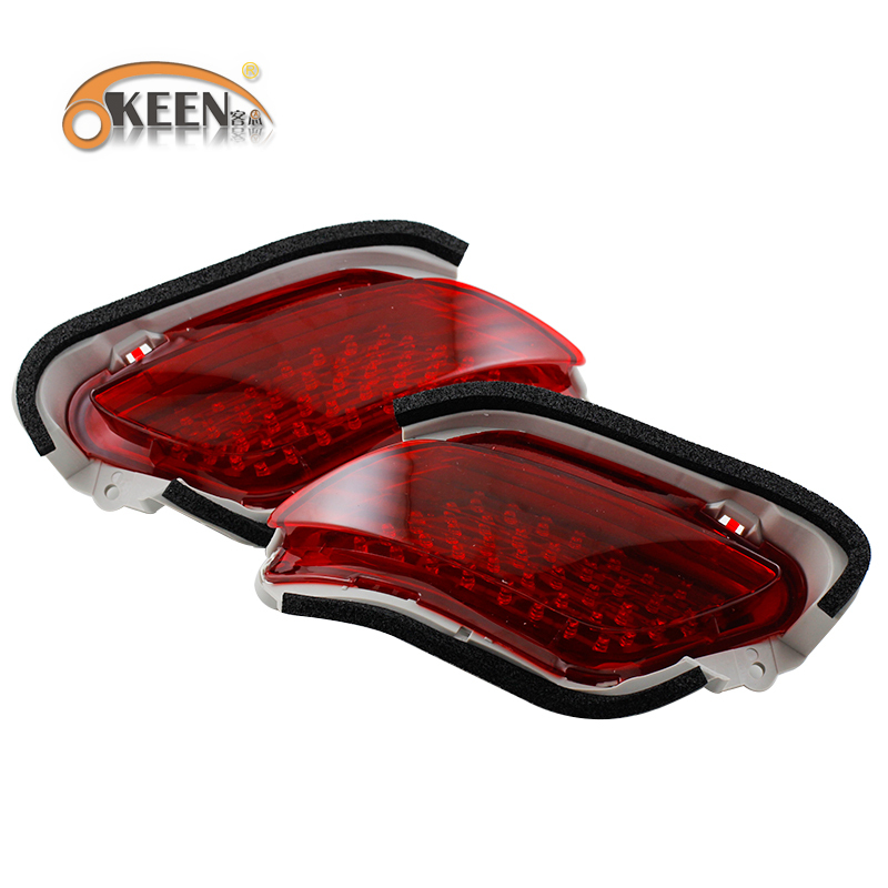 Rear Bumper Reflector Light For Toyota Vios/new Yaris Car Styling ...
