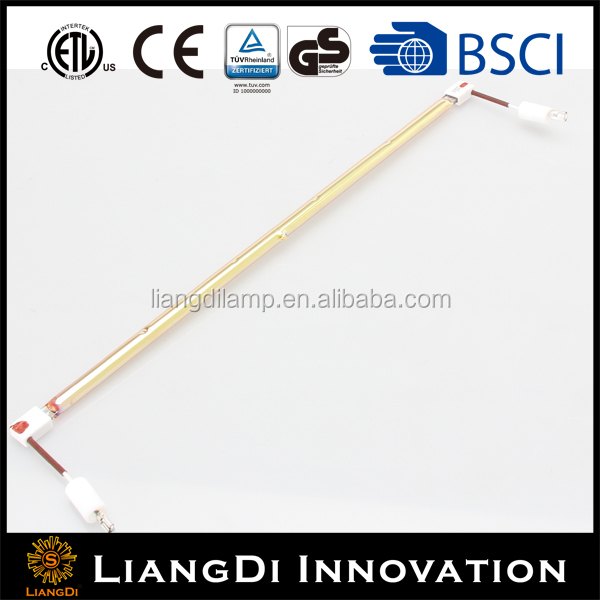 infrared bathroom ceiling heat lamp glass heating element