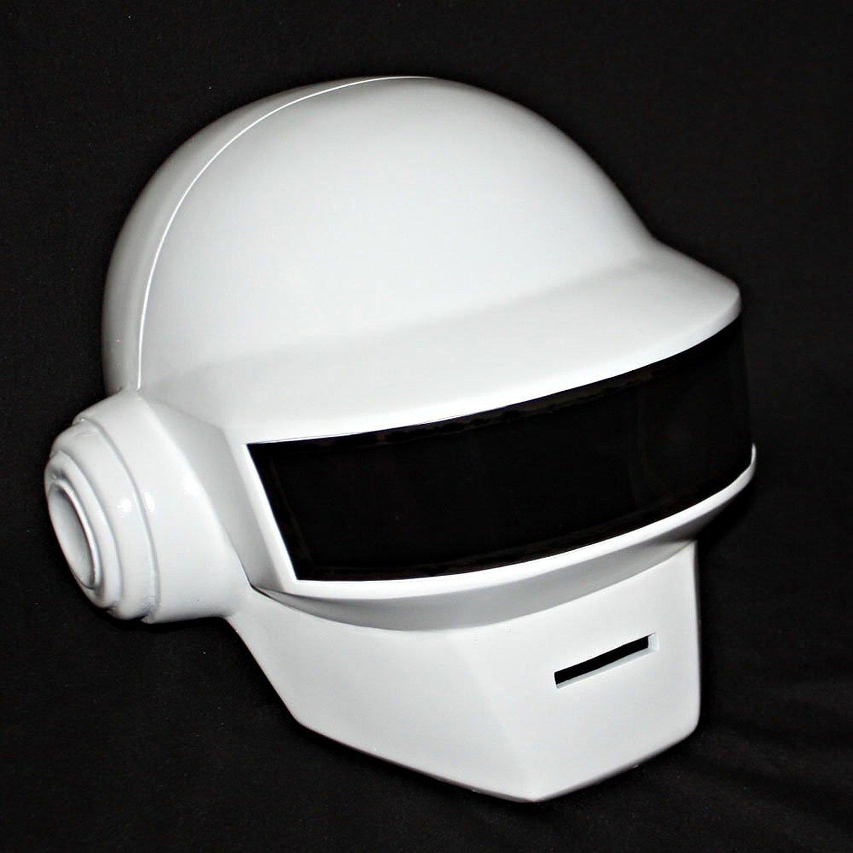 DJ Helmet Replica Full Head Mask Cosplay Prop Daft Punk Fancy Dress Costume