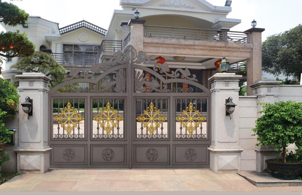 indian open driveway gate. Cast aluminum gate design  sliding metal gates steel construction building material iron house main Aluminum Gate Design Sliding Metal Gates Construction
