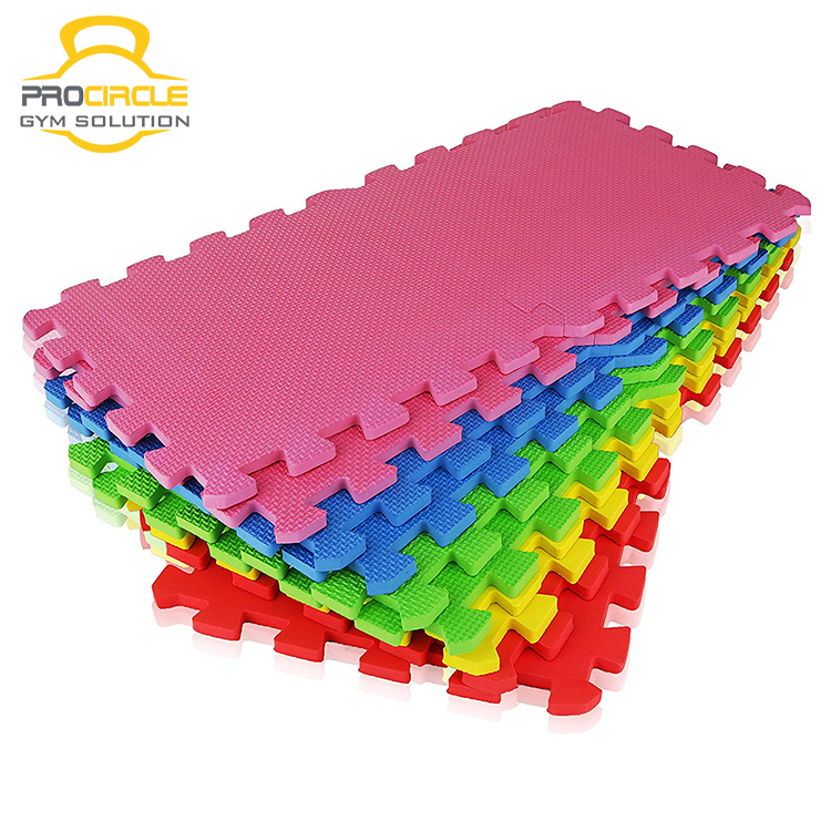 Colorful EVA Foam Tatami Puzzle Mats