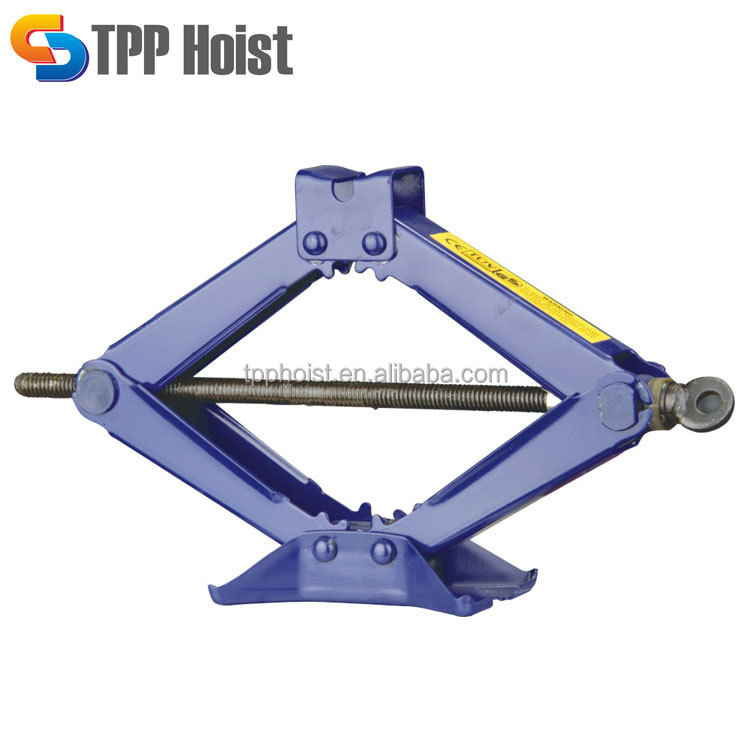 High quality portable small 3T hand scissor car jack