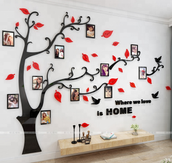 Family Photo Frame Tree Wall Art Decal Wall Sticker Home Decor