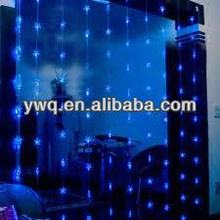 Blue Waterfall light decorative Rain Drip light bedroom decoration