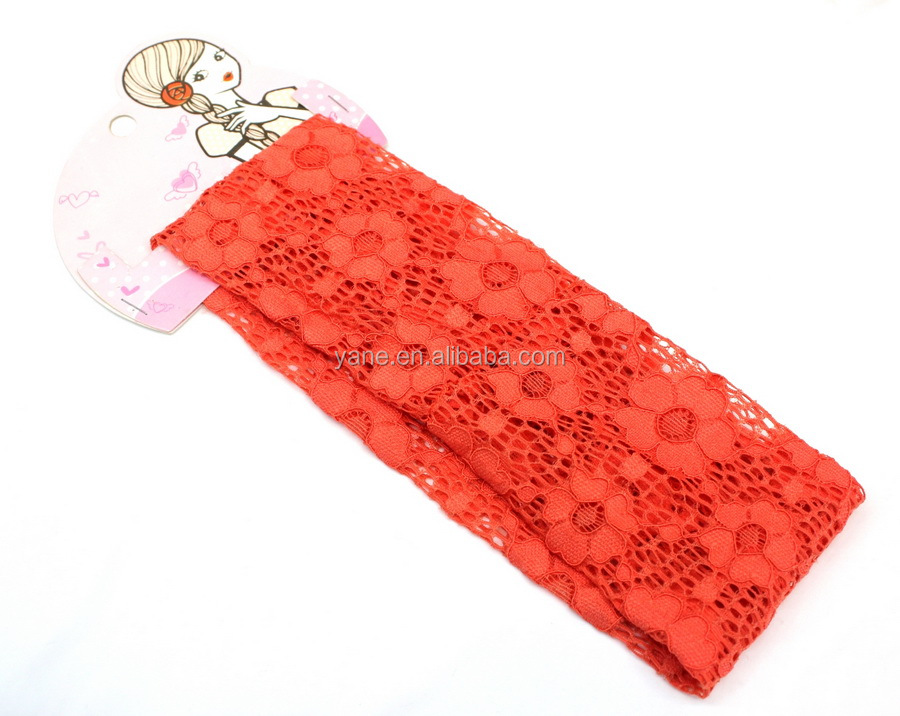 fashion new lace headbands for adults, women hair accessories wholesaler