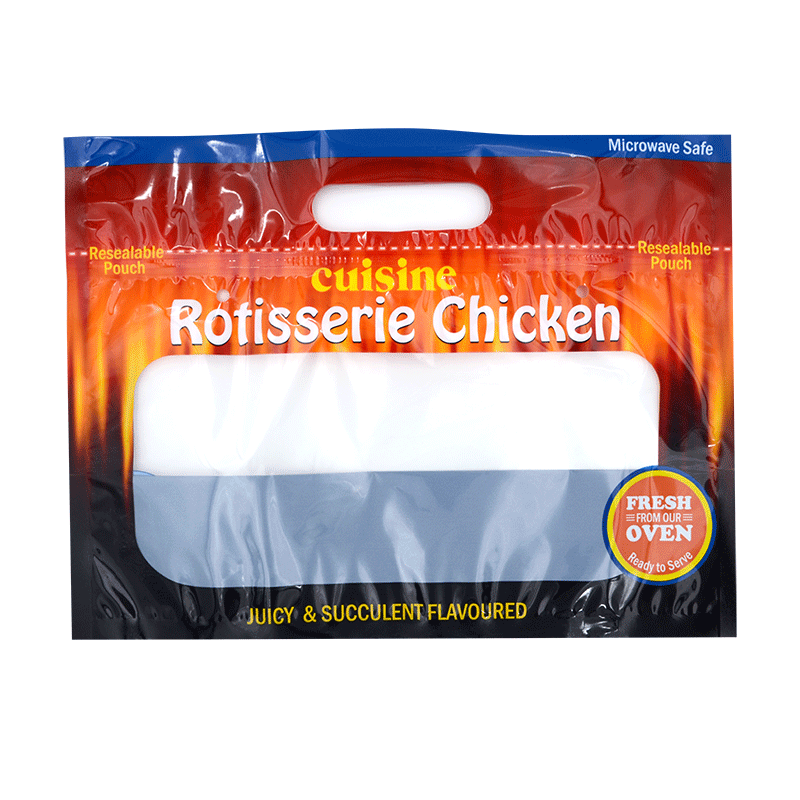 custom printed rotisserie chicken bags roast chicken packaging bag