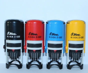 new style for shiny S-1000 self-inking stamp