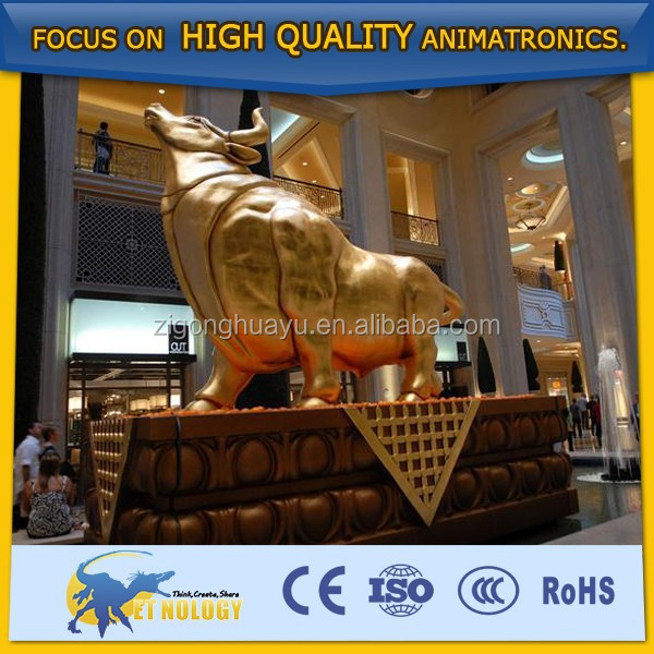 Cetnology Bull Model Animatronic Animals for Sale