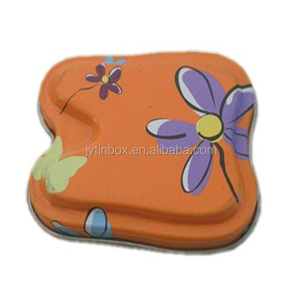 Small Butterfly tin box for candies