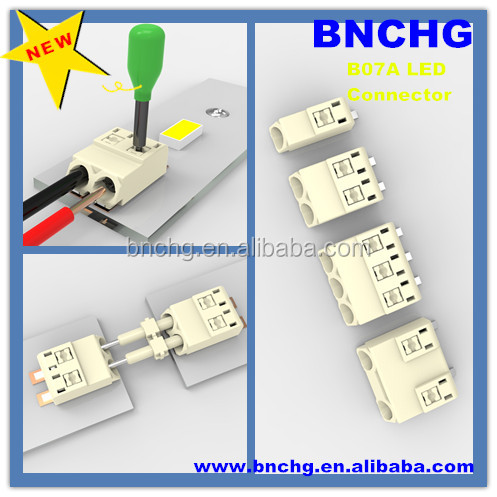Newest Mini Type 3 0mm Smd Flexible Led Strip Connector