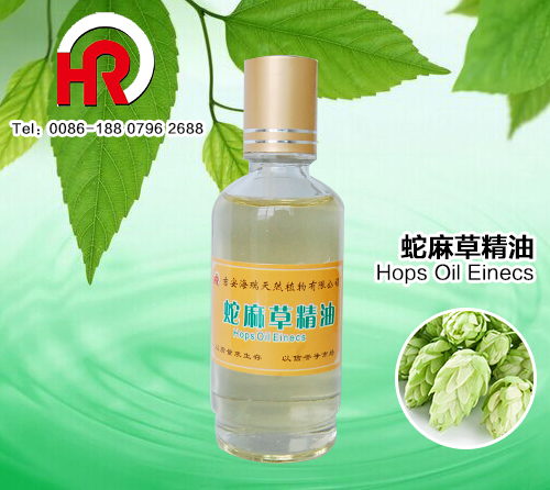 China manufacture SPA used skin care essential beer hops oil