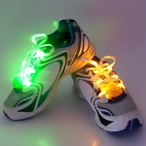 China cheaper stocked product LED shoe lace