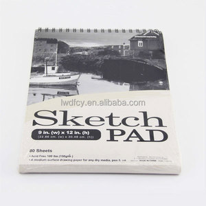 Spiral Sketch Pad Notebook or Book Printing