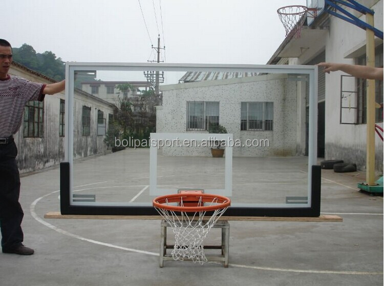 safety toughened basketball backboard for sale
