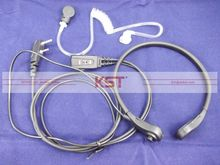 Clear Throat Mic Fone de Ouvido KTM-01 Vibration Headset Com PPT