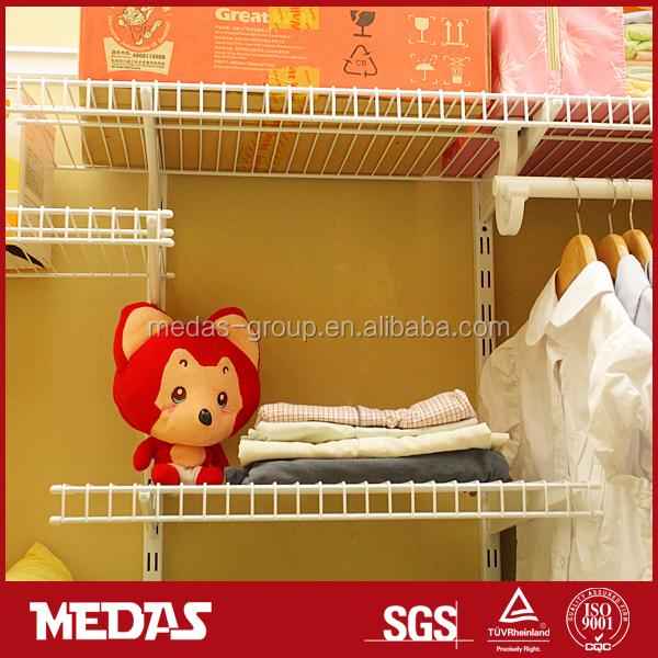 Venta caliente armario estantería de alambre
