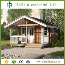 Fast build thermal insulated low cost modular prefab villa house kits
