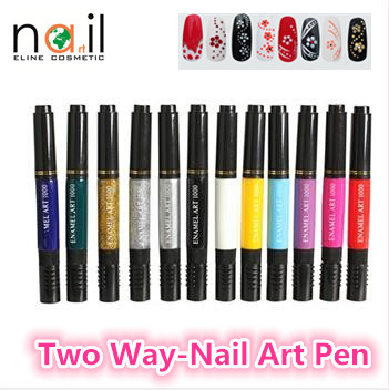 Best Quality Nail Polish Two Way Nail Art Pen For Nail Tools