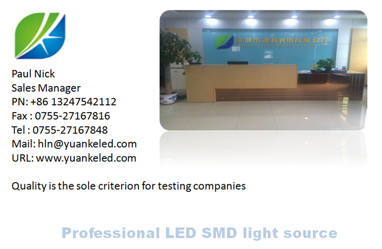High quality high voltage 8-9V 0.5w led 7020 smd Yellow 4 chips series for led strips