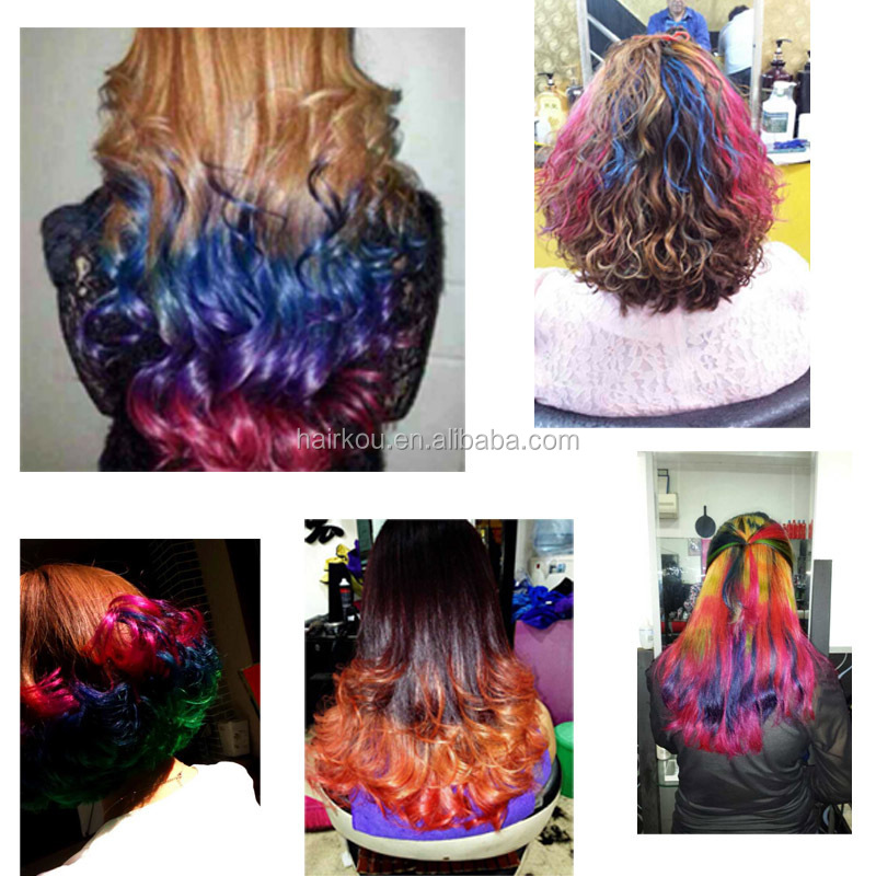 oem factory super colorantsemi permanent hair dye cream for cosmetic hair - Colorant Semi Permanent