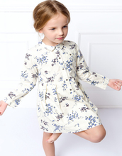 Girl font b Dress b font Kids Flower Print Princess Costume Long Sleeve Toddler Kids Clothes