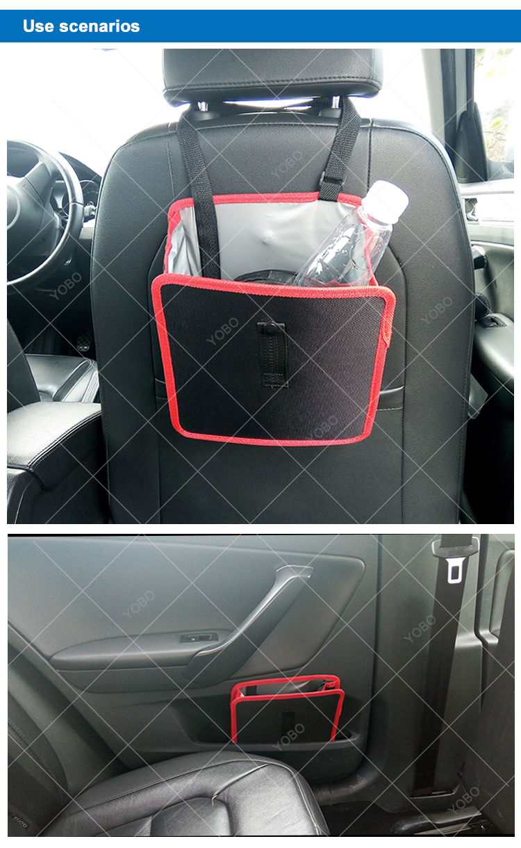 neoprene car trash bag