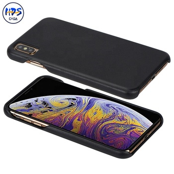 high quality real leather phone case for ipone Xs max
