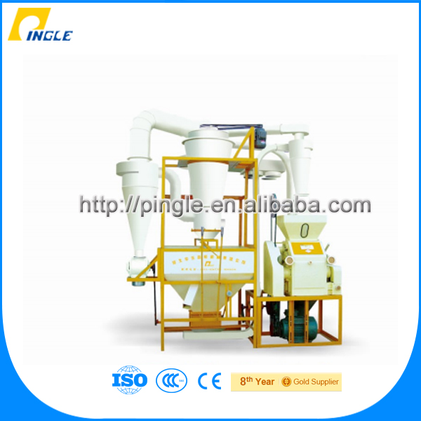 Low price flour mill machinery 3010*1670*3050mm 35*10*11m automatic complete rice milling plant