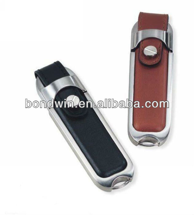 usb flash drive with leather cover