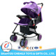 Newborn infant sleeping basket swing folding baby stroller 2 in 1