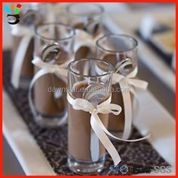 High clear tall sweety shot glass set