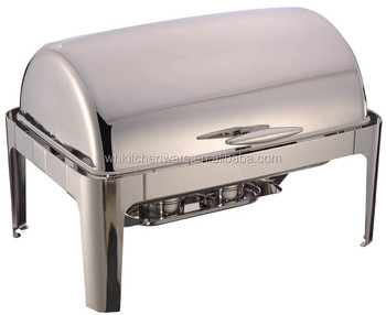 9QT Roll Top Chafing Dish For Sale
