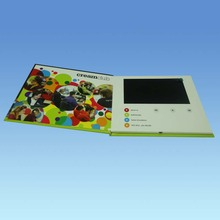 hard cover video card , 7inch screen, 2G memory , factory supply