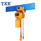 TXK Brand Double Speed Electric Motorized Lifting Chain Hoist 2 t Price