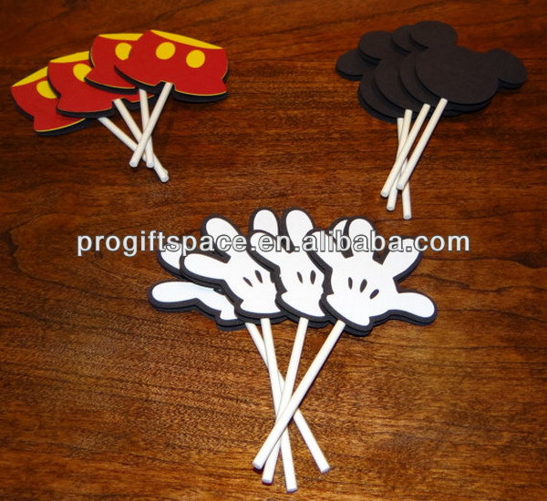 Hot new best selling product wholesale alibaba craft Mickey Mouse Cupcake Toppers Birthday Party Supplies made in China