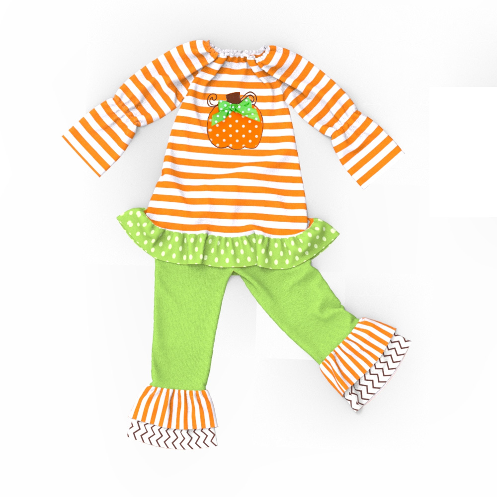 Halloween stile original kürbis muster baby-body