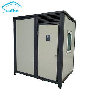 Wirtschafts Fertig Mobilen Badezimmer Container Tragbare Toilette