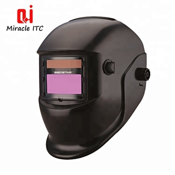 1/5000S Unimpeded Signal Hard Hat Auto Darkening Welding Helmet