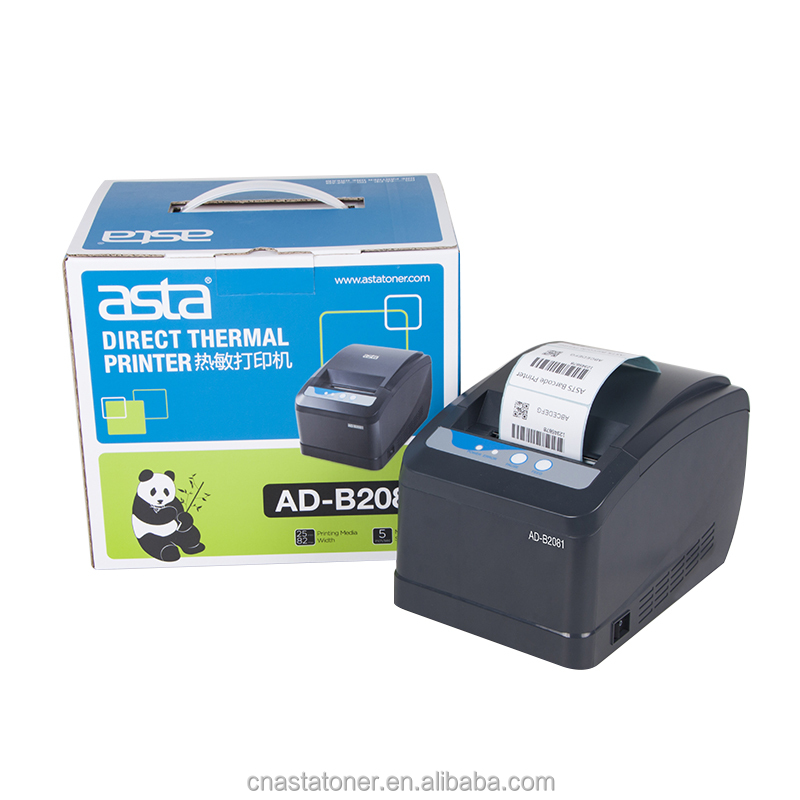ASTA Langsung Thermal Label Printer Barcode printer Kualitas Premium