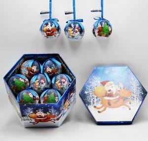 Hot sale Christmas Plastic Ball Tree Ball Decoration Ornament