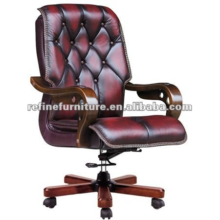 luxury leather office chair. wooden arms luxury leather office chair rfb009 buy chairwooden leatherluxury