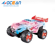Colourful remote control 4 channel cheap racing car toys for kids 2018