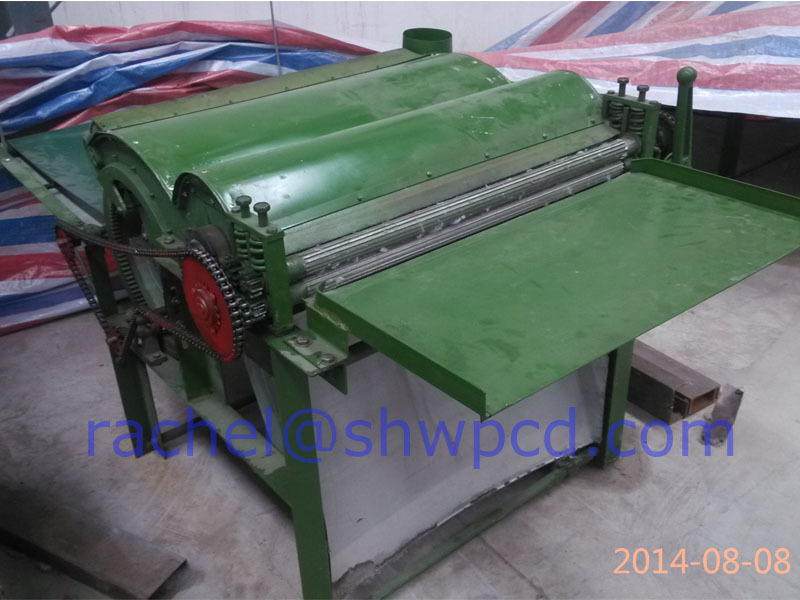 fabric recycle machine