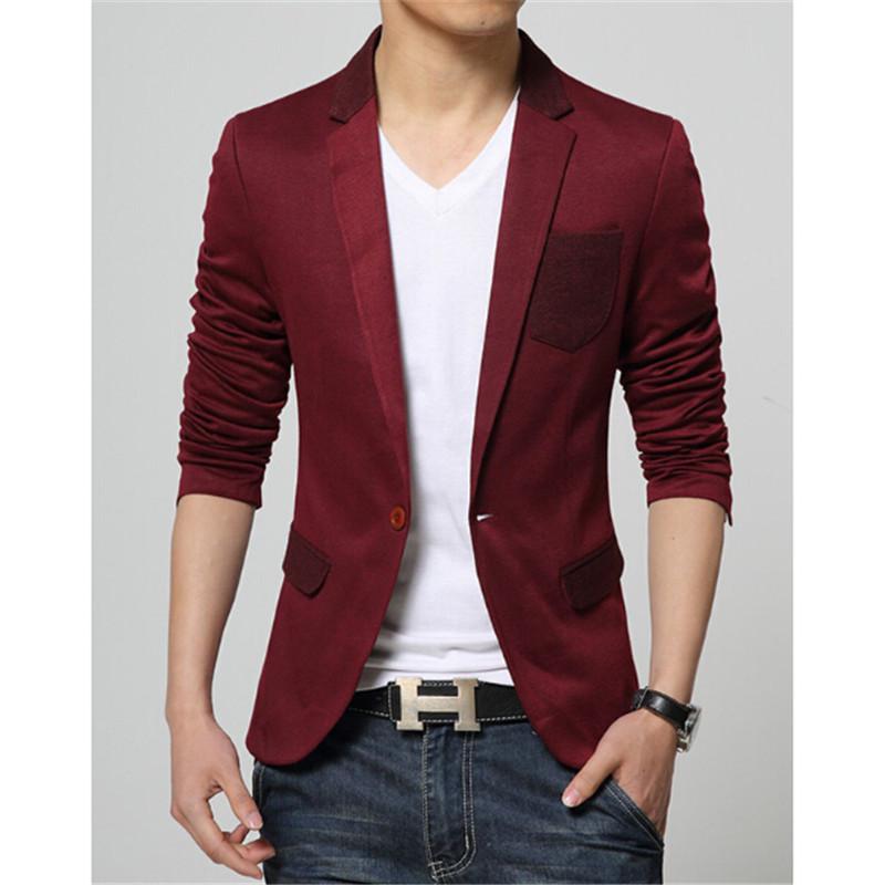 Online Get Cheap Red Blazers for Men -Aliexpress.com ...