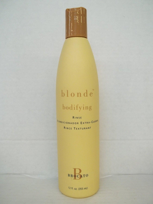 Brocato Blonde Bodifying Rinse(12 oz)